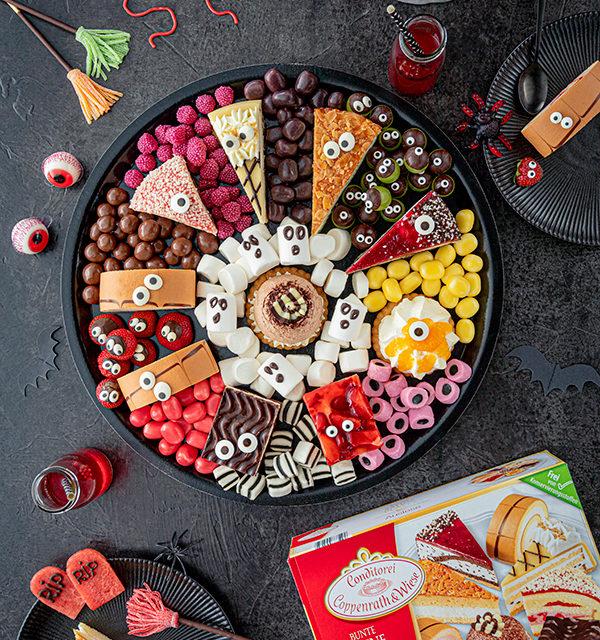 Food platter für Halloween 9