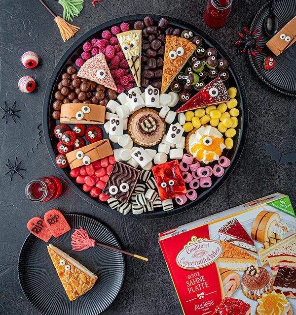 Food platter für Halloween 10