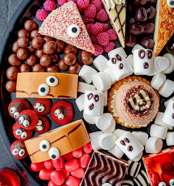 Food platter für Halloween 12