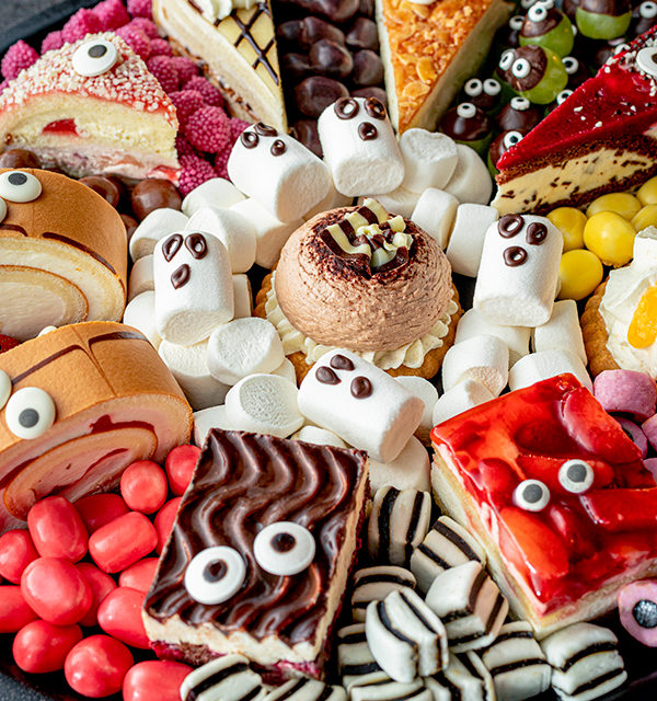 Food platter für Halloween 17