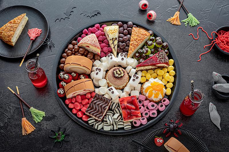 Food platter für Halloween 4