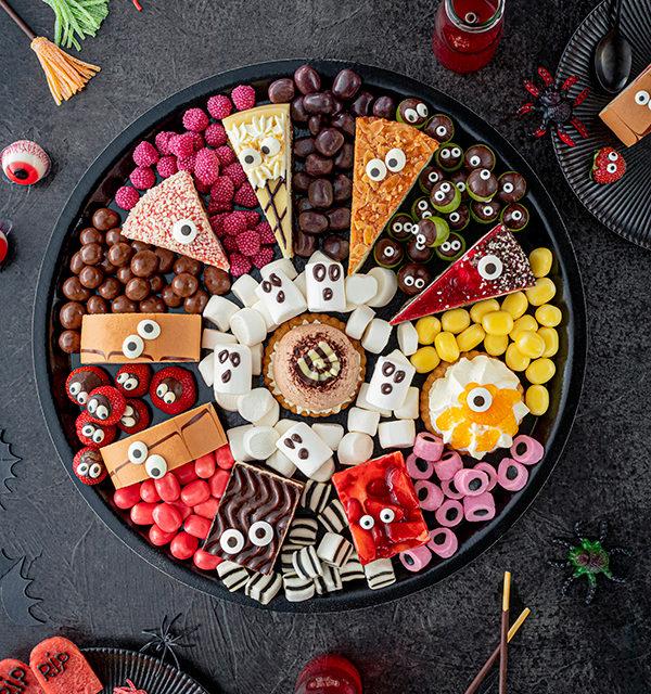 Food platter für Halloween 8