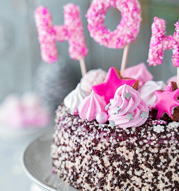 Hohoho-Christmascaketopper für unsere Stracciatella-Kirsch-Torte 31