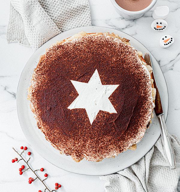 Perfekt im Advent: Käsekuchen mit Bratapfelkompott 16