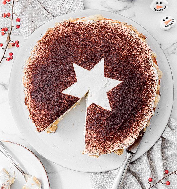 Perfekt im Advent: Käsekuchen mit Bratapfelkompott 19