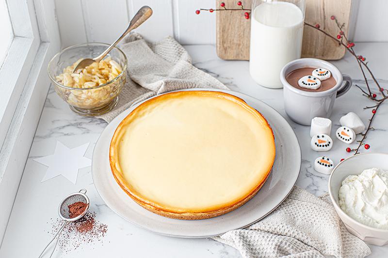 Perfekt im Advent: Käsekuchen mit Bratapfelkompott 32