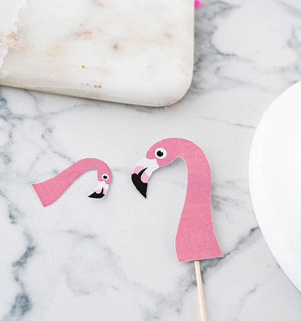 Flamingo-Torte einfach gemacht! 14