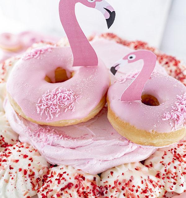 Flamingo-Torte einfach gemacht! 17