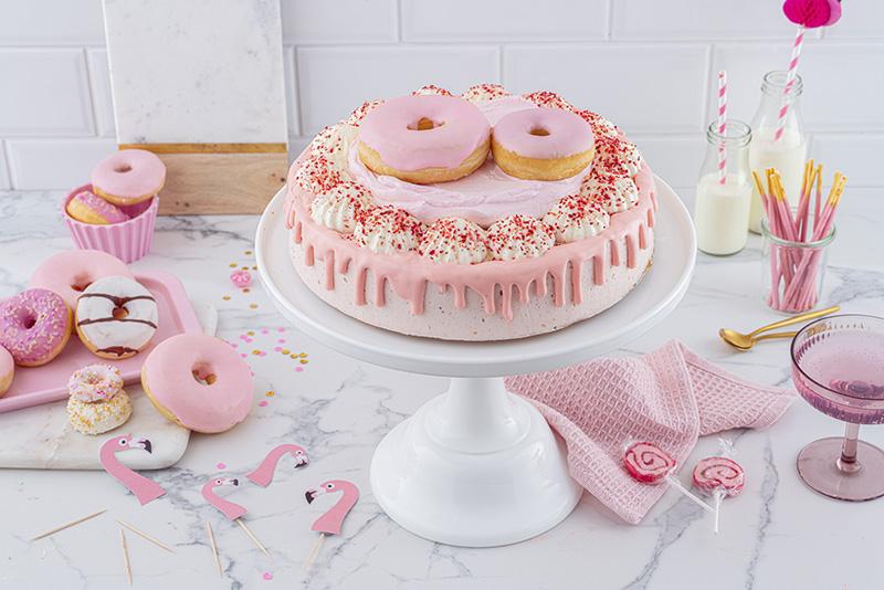Flamingo-Torte einfach gemacht! 27