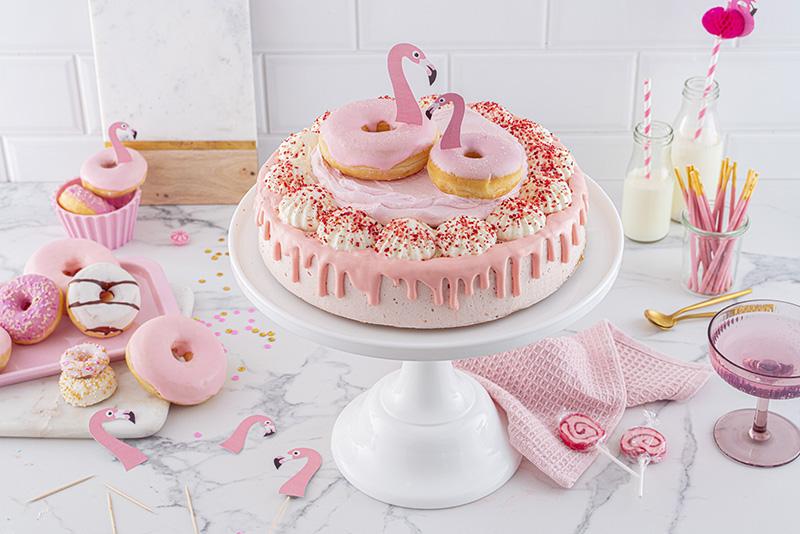 Flamingo-Torte einfach gemacht! 28