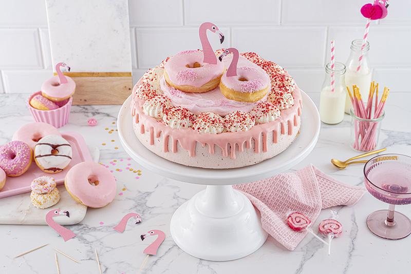 Flamingo-Torte einfach gemacht! 29