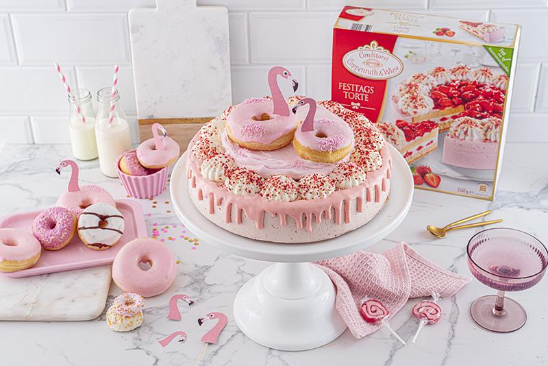 Flamingo-Torte einfach gemacht! 31