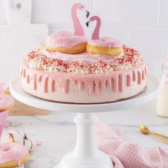 Flamingo-Torte einfach gemacht! 35