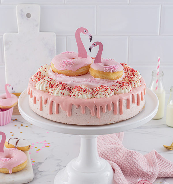 Flamingo-Torte einfach gemacht! 6