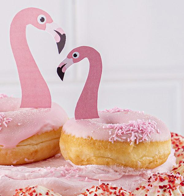 Flamingo-Torte einfach gemacht! 7