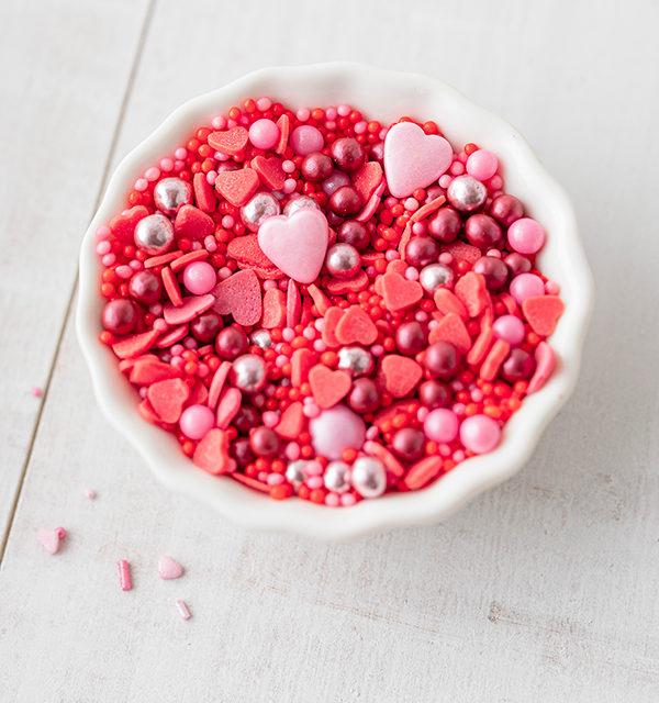 Süßes Schokofondue zum Valentinstag 10