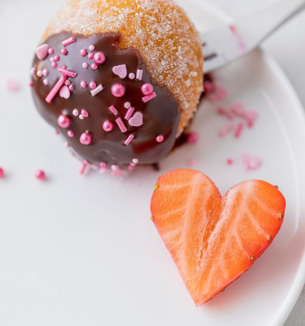 Süßes Schokofondue zum Valentinstag 11
