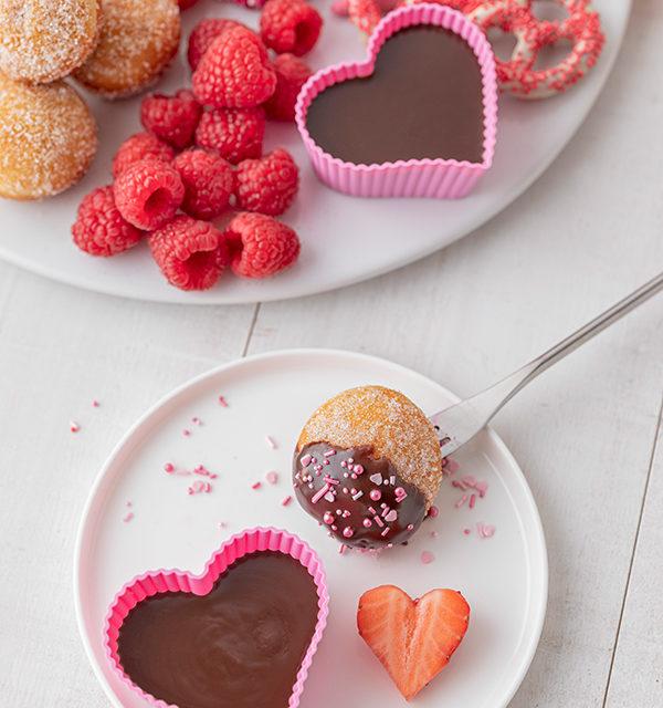 Süßes Schokofondue zum Valentinstag 19
