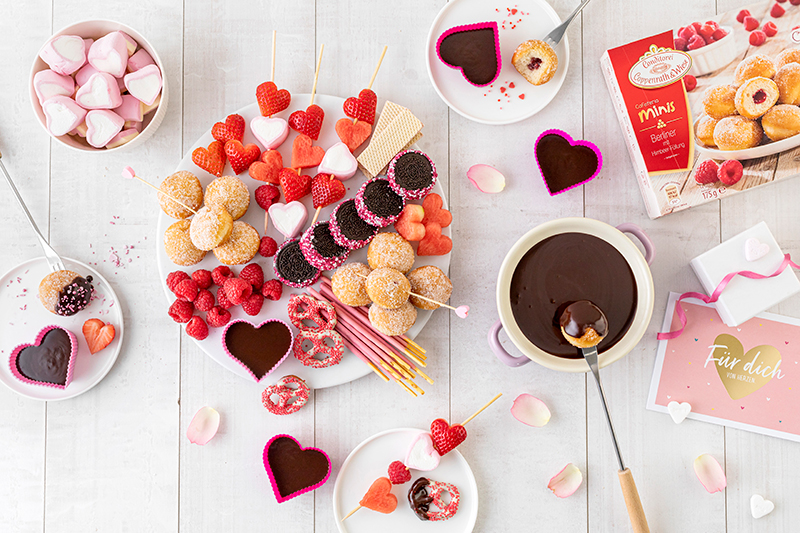 Süßes Schokofondue zum Valentinstag 29