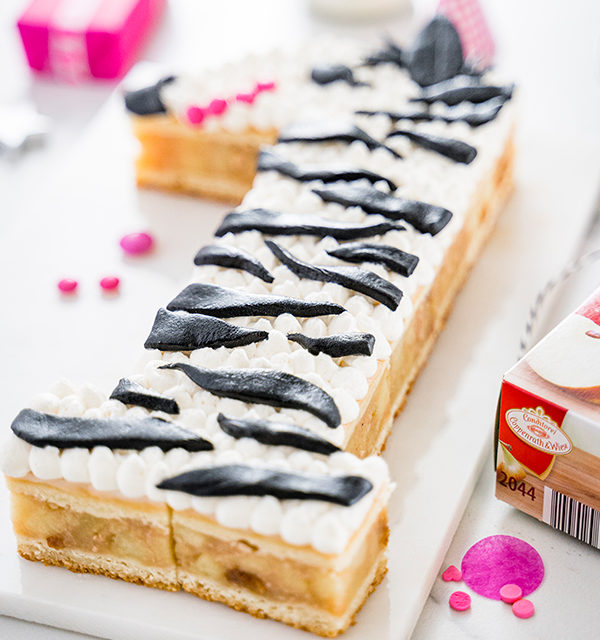 Zebra-Kuchen zum 1. Geburtstag 31