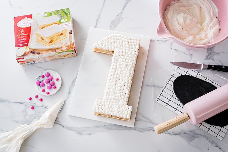 Zebra-Kuchen zum 1. Geburtstag 4