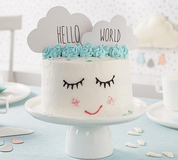 Baby Torte zur Feier des Neugeborenen 2