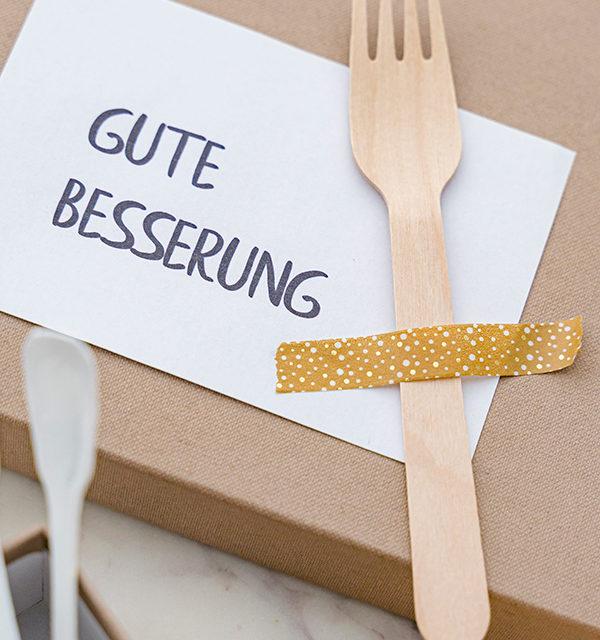 """""""Gute Besserung""""-Kuchen: Ein Geschenk für Laib und Seele 12"""