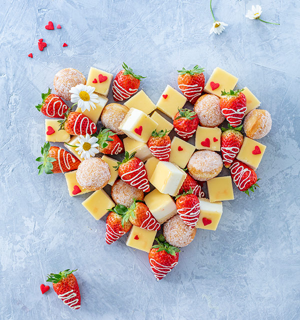 Fingerfood-Herz zum Muttertag 18