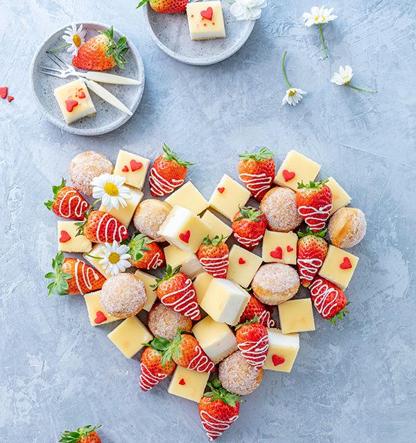 Fingerfood-Herz zum Muttertag 21