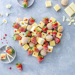 Fingerfood-Herz zum Muttertag 31