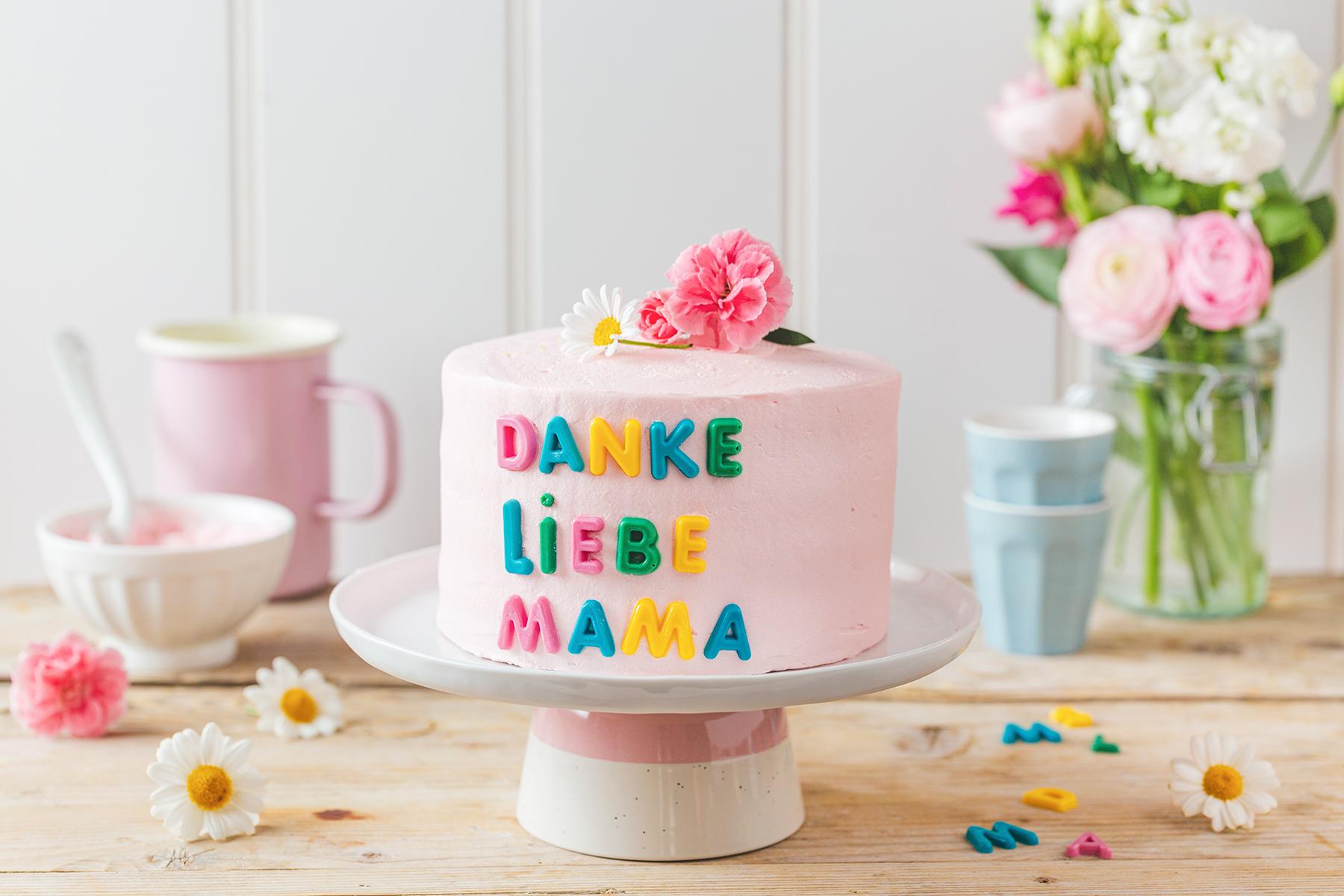 Zum Muttertag: Süße Torte zum Verschenken 18