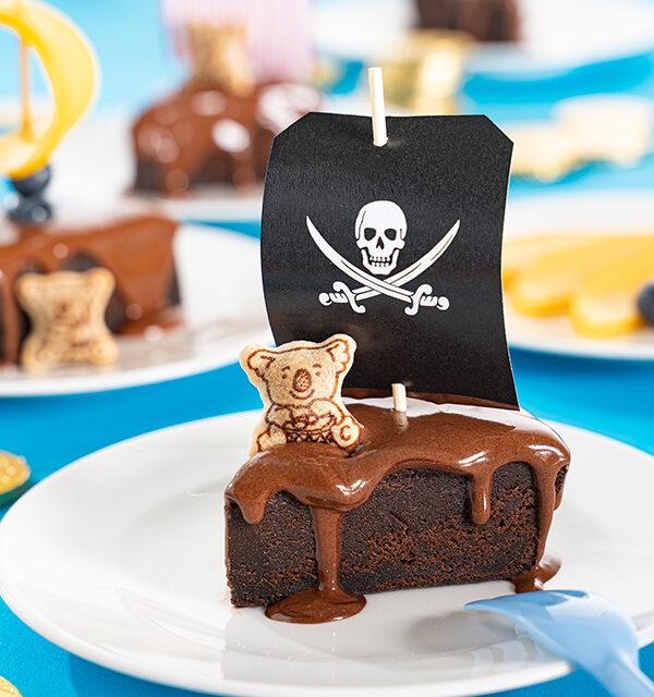 Kinderrrezept: Piratenkuchen mit Segel 6