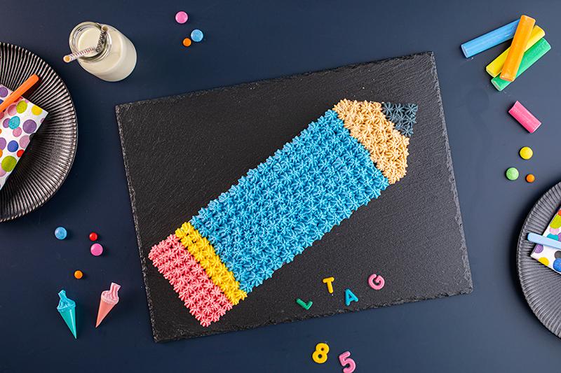 Einschulung: Stift-Torte leicht gemacht 9