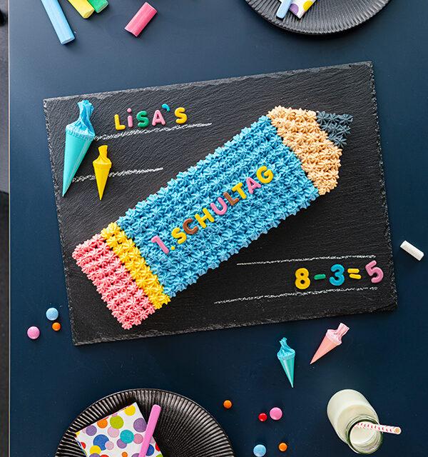 Einschulung: Stift-Torte leicht gemacht 13