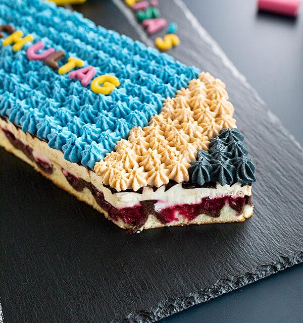Einschulung: Stift-Torte leicht gemacht 20