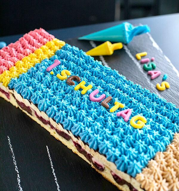 Einschulung: Stift-Torte leicht gemacht 21