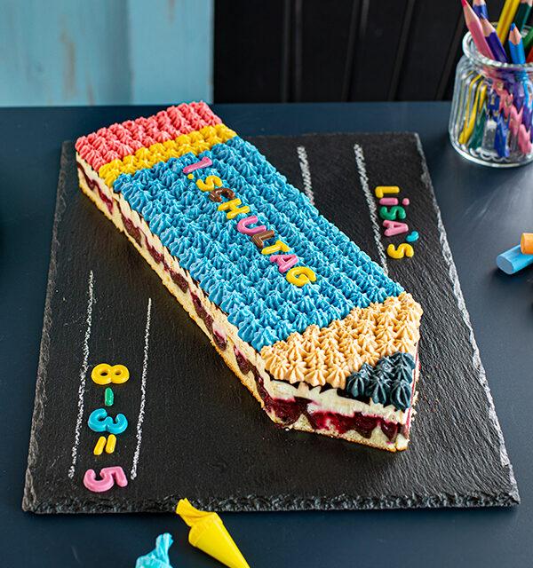 Einschulung: Stift-Torte leicht gemacht 23