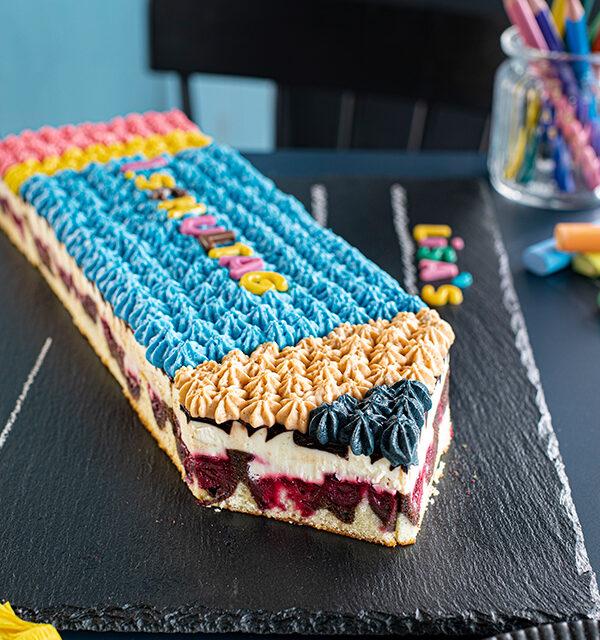 Einschulung: Stift-Torte leicht gemacht 25